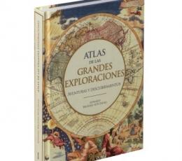 ATLAS DE LAS GRANDES EXPLORACIONES /AVENTURAS Y...