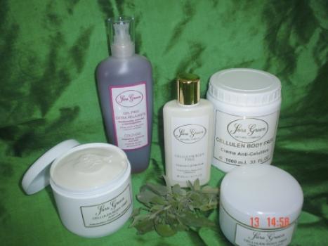 Catálogo de productos y cremas Sara Green corporal y solar