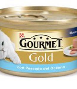 GOURMET GOLD MOUSSE Pescado Oceano 85 G.