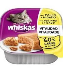 Whiskas Tarrina Paté Pollo & Higado