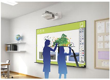 Proyectores interactivos