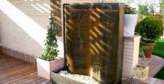 Acero corten oxidado