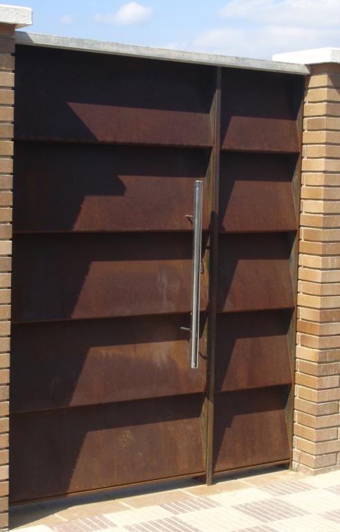 ampliar imagen acero corten oxidado ampliar imagen