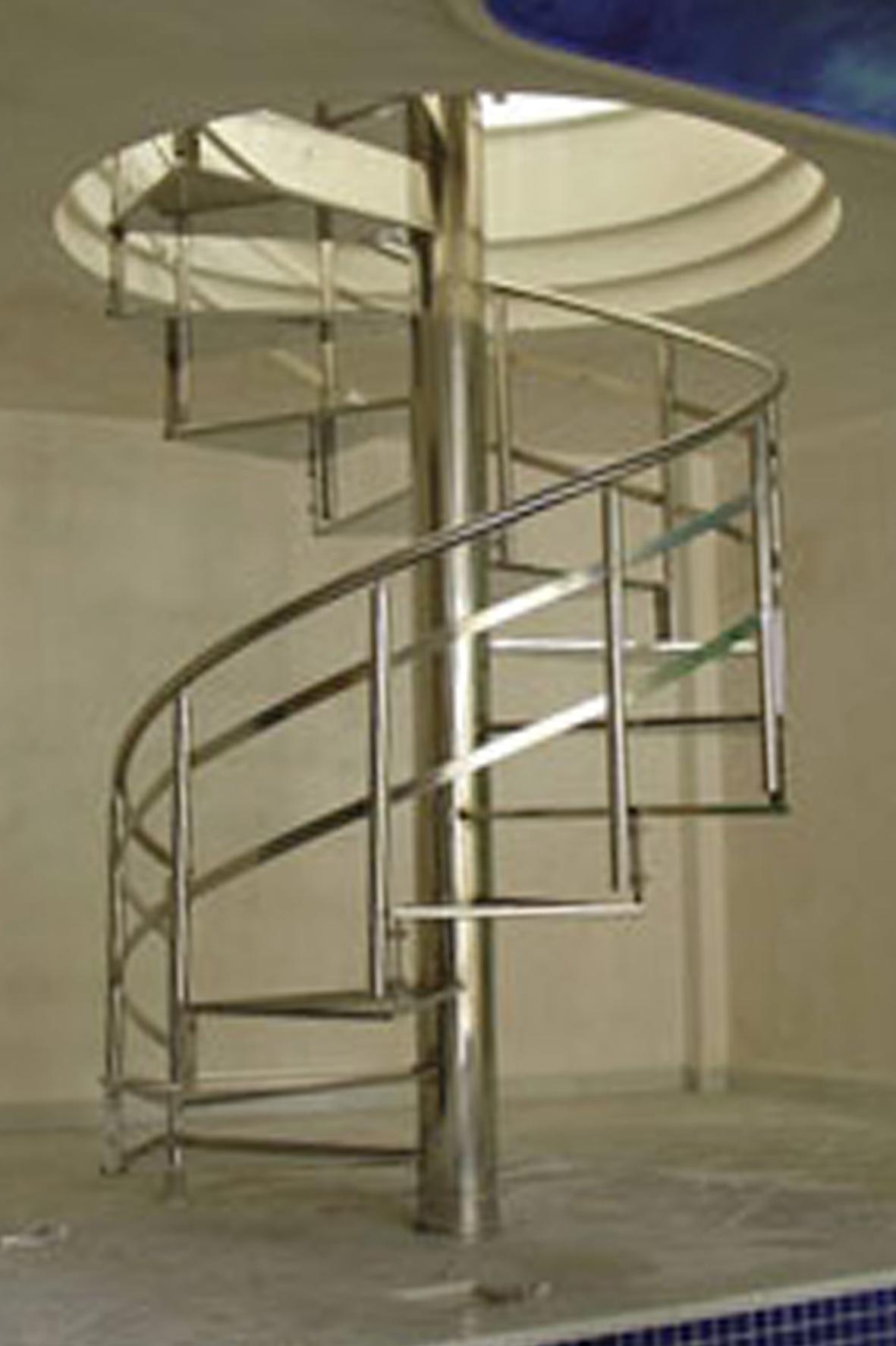 Escaleras de fierro inoxmetal vargas escaleras de hierro ref cargando zoom escaleras para - Escaleras de caracol economicas ...