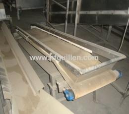 CINTA TRANSPORTADORA BANDA PVC 410x2800 mm