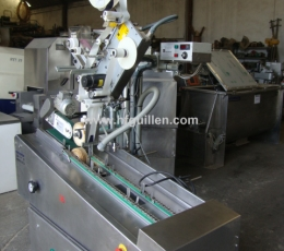LABELLING MACHINE FOR COLD MEAT MECATRONIC