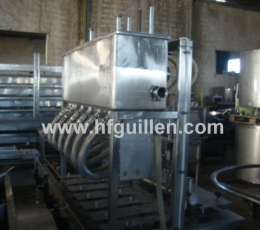 PNEUMATIC LINEAR FILLING MACHINE WITH SIX HEADS