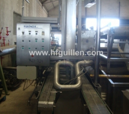 FILLING MACHINE PERINOX OF 3 COLUMNS FOR CHEESE...