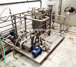 PASTEURIZER WITH BOILER, GASOIL TANK