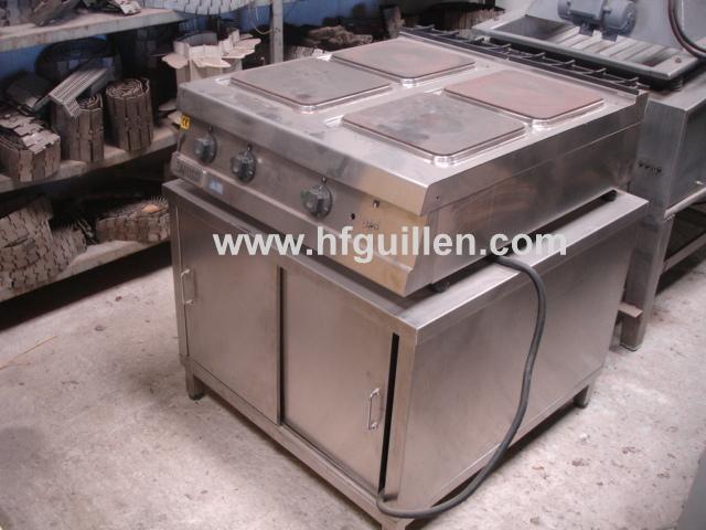 Cocina de 4 placas vitrocer micas compra y venta de maquinaria de segunda mano - Maquinaria de cocina de segunda mano ...