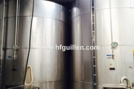STAINLESS STEEL ISOTHERMAL TANK 15000 LTS