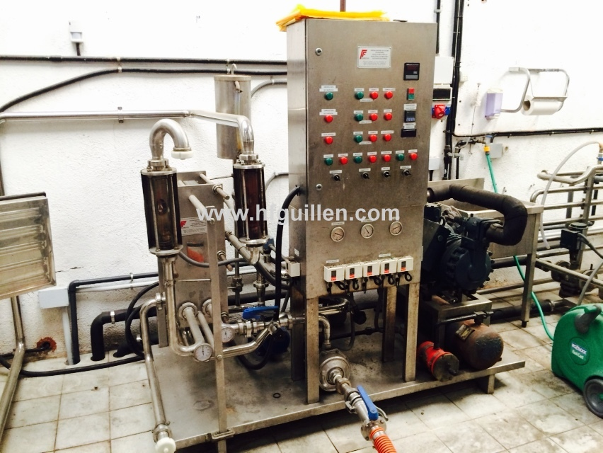 COOLING EQUIPMENT WITH HEAT EXCHANGER
