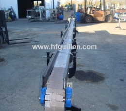 SLAT CONVEYOR FOR CANS EZMA