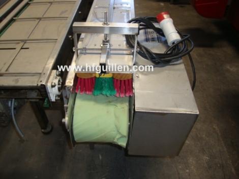 CONVEYOR BELT WITH BRUSHES - Compra y Venta de Maquinaria de