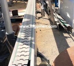 STAINLESS STEEL CONVEYOR BELT 5M