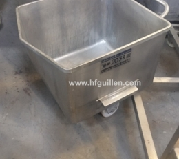 STAINLESS STEEL SMALL TROLLEYS