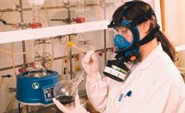 Mascarillas de seguridad para laboratorios