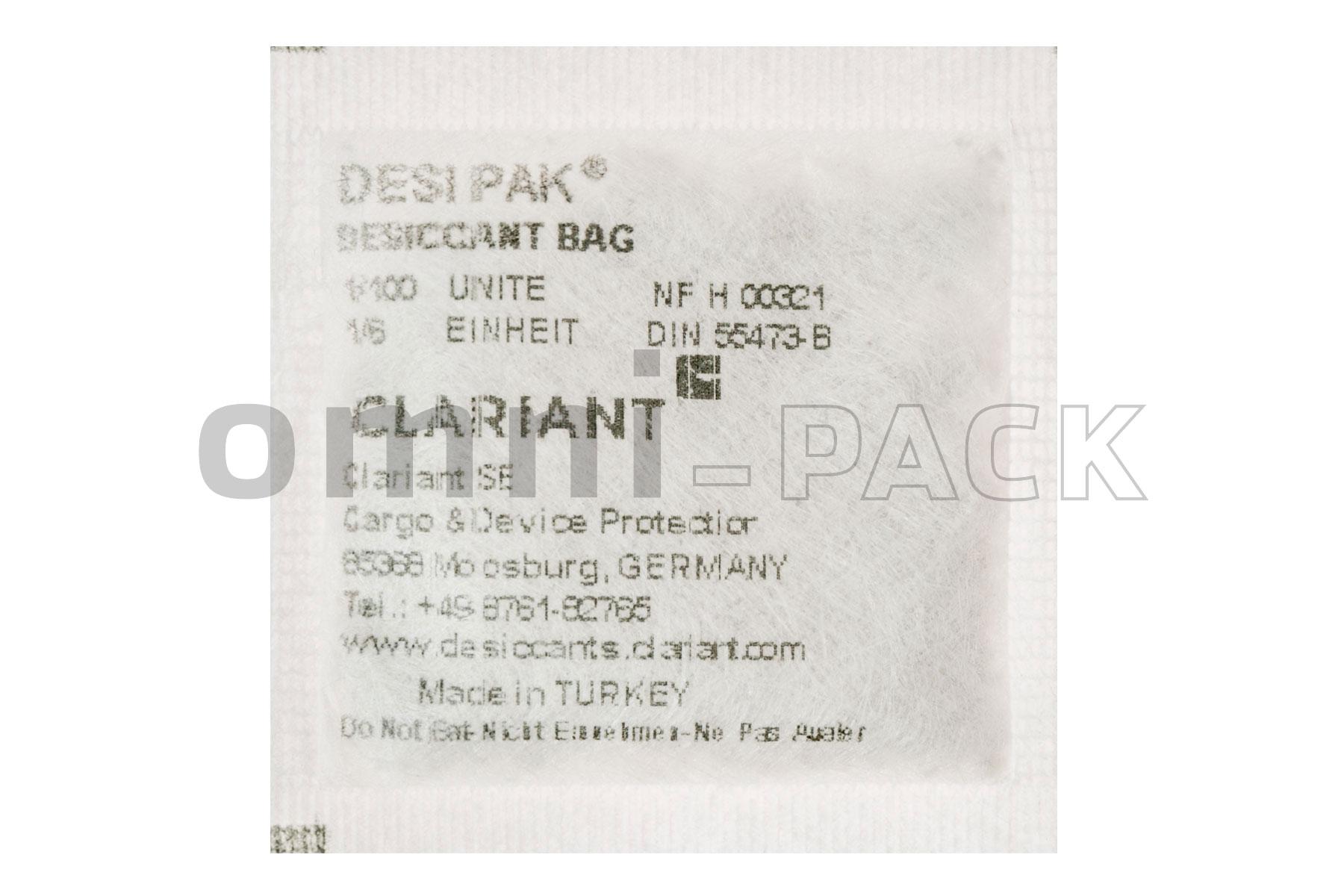 Bolsas desecantes Desi Pack