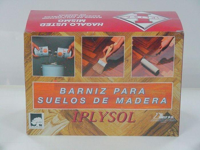 Barniz para suelos de madera Iplysol