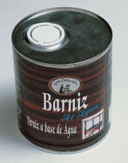 BARNIZ AL AGUA LATA DE 750 ML