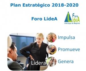 Plan Estratégico Foro LideA 2018 a 2020