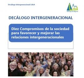 """Foro LideA: VI Jornada LideA """"Encuentro intergeneracional para un sociedad mejor"""""""