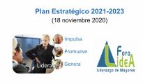 Plan estratégico Foro LideA 2021-2023