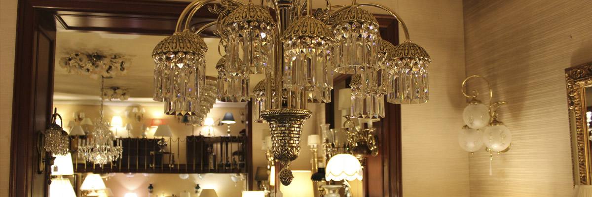 Pantallas y globos para lámparas en Barcelona