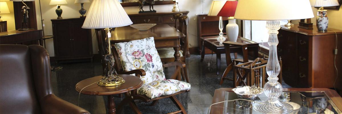 Tienda de muebles clásicos en Barcelona