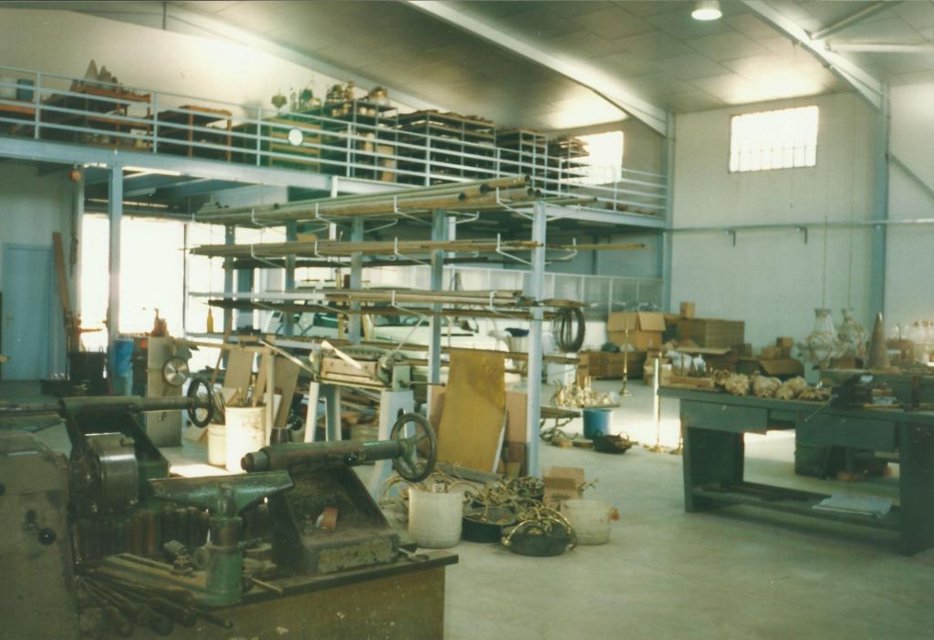 Taller de restauración de lámparas