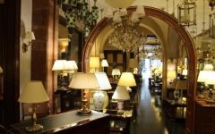 Tienda de lámparas clásicas en Barcelona