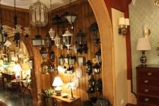 lámparas de luz exterior