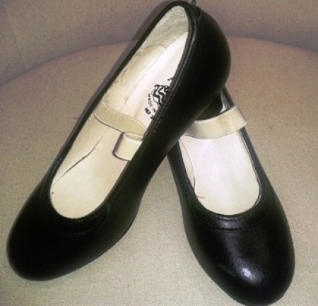 Zapato iniciación goma