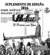 Suplemento de España 2016 Hojas de Sellos sin...