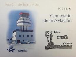 PRUEBA DE LUJO 20 CENTENARIO DE LA AVIACION 2003