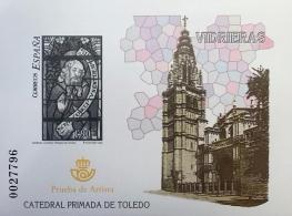 PRUEBA OFICIAL DE ARTISTA 2004 VIDRIERAS CATEDRAL...