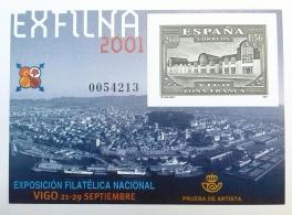 PRUEBA OFICIAL DE ARTISTA 2001 EXFILNA VIGO