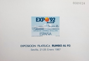 PRUEBA OFICIAL DE COLOR 1987 RUMBO AL 92