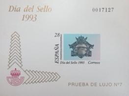 PRUEBA DE LUJO 7 DIA DEL SELLO 1993
