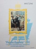 PRUEBA OFICIAL DE COLOR 1995 PINTURA ESPAÑOLA...
