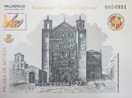 PRUEBA OFICIAL DE ARTISTA 1992 VALLADOLID EXFILNA...