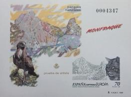 PRUEBA OFICIAL DE ARTISTA 1999 PARQUES NATURALES,...