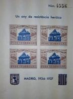 8 HOJAS SIN DENTAR DE UN ANY DE RESISTENCIA...