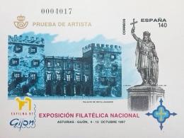 PRUEBA OFICIAL DE ARTISTA 1997 EXFILNA 97 GIJON