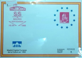 FILAMODER 88. MADRID CAPITAL EUROPEA DE LA CULTURA...
