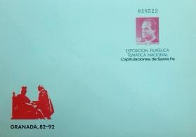 EXFITEM CAPITULACIONES DE SANTA FE. GRANADA 1987