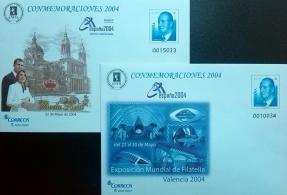 CONMEMORACIONES 2004 EXPO MUNDIAL VALENCIA 2004