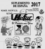 Suplemento de España 2017. Sin protectores