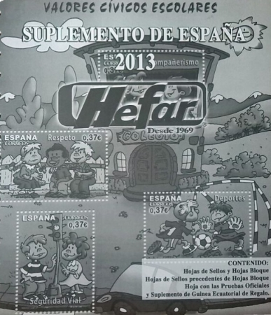 Suplemento de España 2013 sin protectores