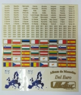 Etiquetas Adhesivas para monedas de Euro segunda...